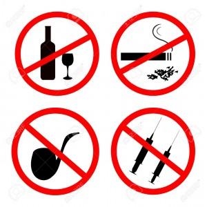 non-a-lalcool-et-la-drogue