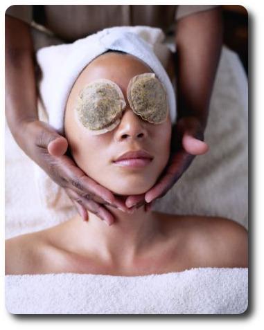 masque naturel pour les yeux