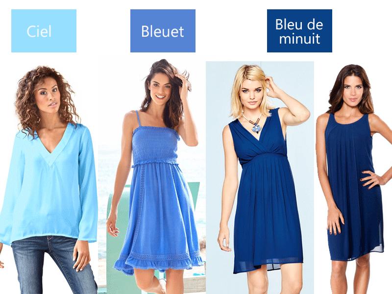 Robes-bleu